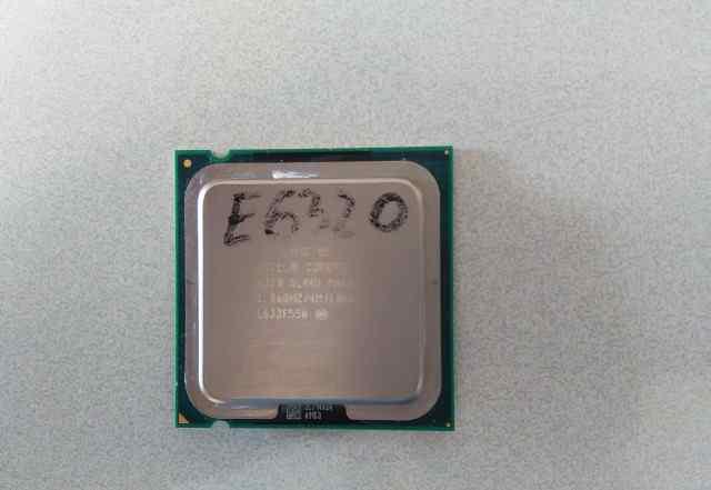 Процессор Socket 775 Intel Core 2 Duo E6320 /1.86G