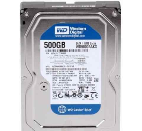 Жетский диск HDD Western Digital 500 Gb