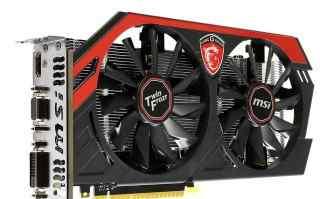 Видеокарта MSI GeForce GTX 750 TI