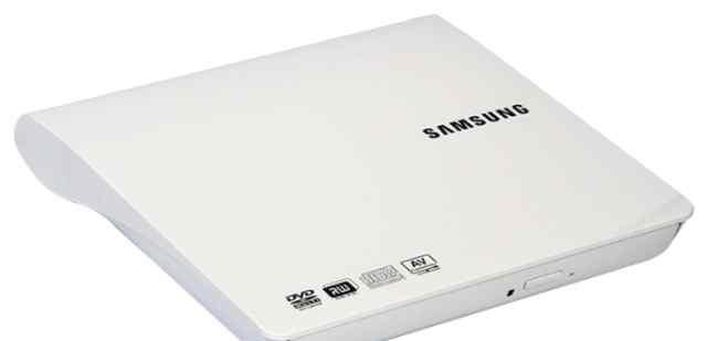 Внешний дисковод Samsung новый/белый/usb