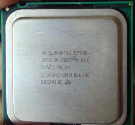 Процессор S775 Core 2 Duo E7200 2.53GHz dualcore