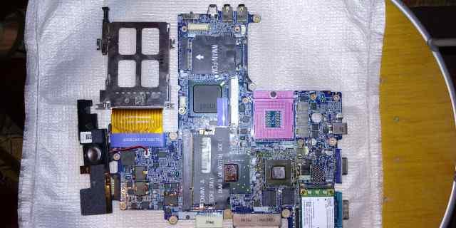 Материнская плата для ноутбука Dell D630