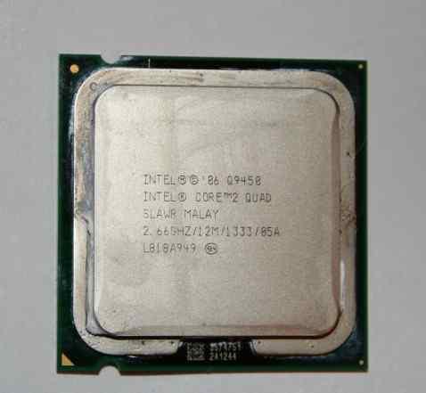 Intel Core 2 Quad Q9450 Yorkfield (2667MHz, LGA775