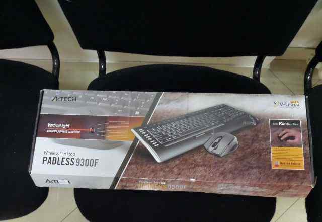 Комплект клавиатуры с мышкой A4Tech 9300F беспров