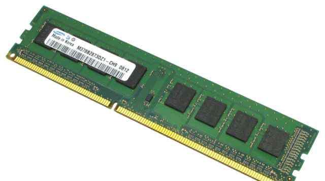 Samsung DDR3 1333 dimm 2Gb 4шт