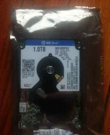 Жесткий диск Western Digital WD10spcx 1Tb (Новый)