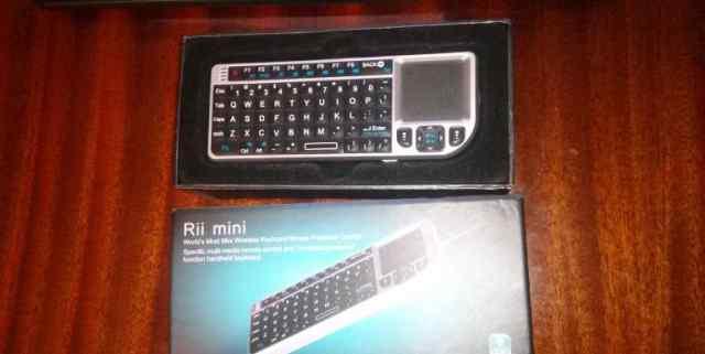 Беспроводная мини-клавиатура с тачпадом