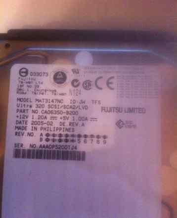 Жесткий диск Fujitsu MAT3147NC
