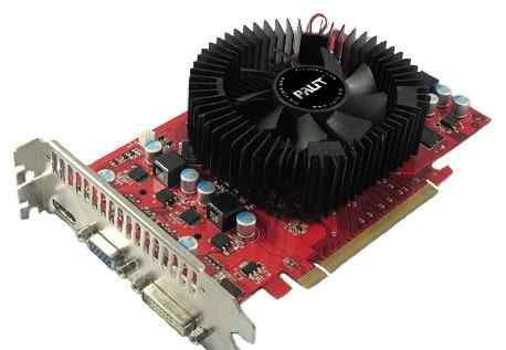 Видеокарта Palit GeForce 9800 GT 550Mhz PCI-E 2.0