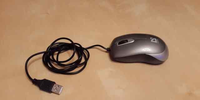 Мышь компьютерная проводная defender