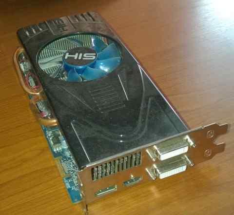 Видеокарта HIS Radeon HD5770 1GB (128bit) gddr5