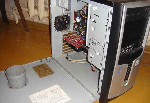 Компьютер для дома и монитор если что