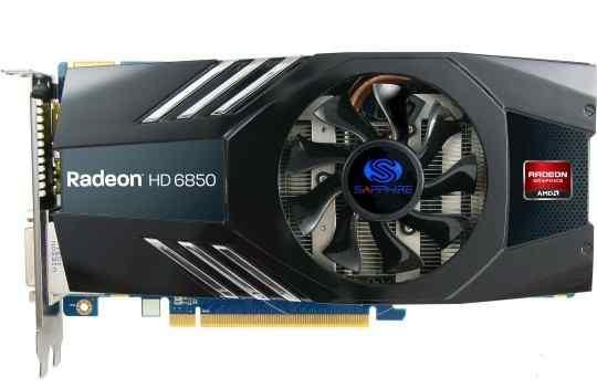 Видеокарта Radeon HD 6850