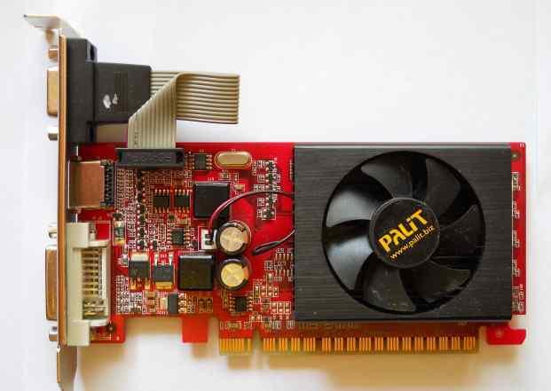 Видеокарта Palit GeForce 8400 GS 1Gb