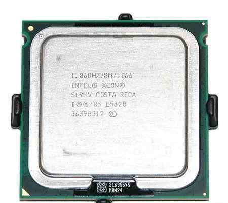 Пара Xeon Quad Core E5320 SL9MV 1.86GHz LGA 771