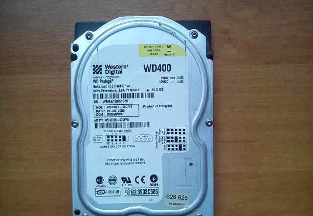 Жёсткий диск Western Digital 40.0 Gb