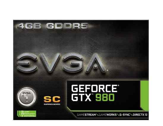 Видеокарта evga GeForce GTX 980 ACX 2.0 4GB gddr5