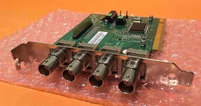 Плата видеонаблюдения Fusion 878a 4 канала PCI
