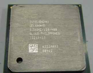 Intel Celeron Processor 2.30 GHz, 128K Cache, 40