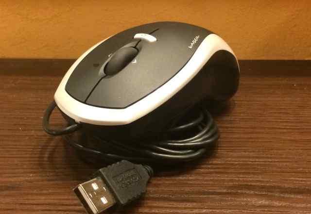 Мышь Logitech RX1000 Laser USB black