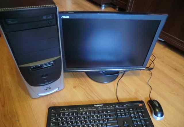 Pentium E2160 2ядра+ монитор 19