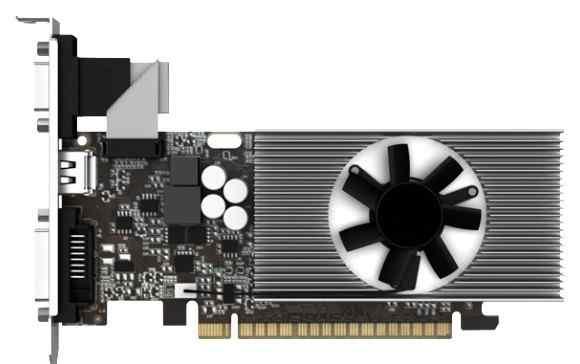 Видеокарта nVidia GT740 1024mb