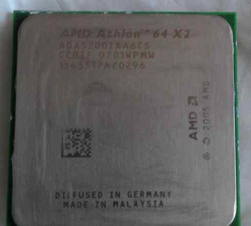 Процессор AMD athlon 64 X2 5200+ + Куллер