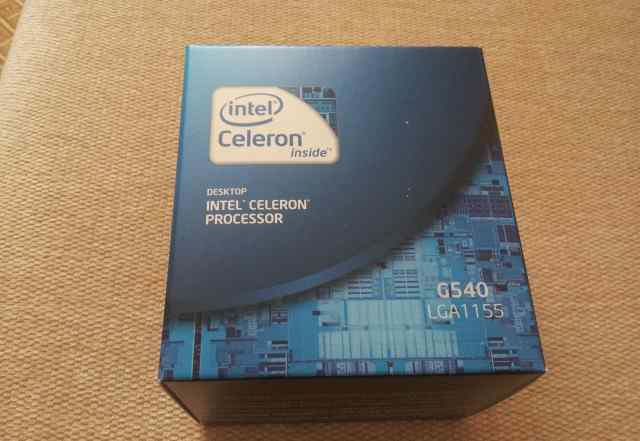 Новый процессор Intel Celeron G540