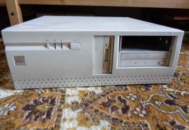Винтажный сервер на двухпроцессорной мат. плате