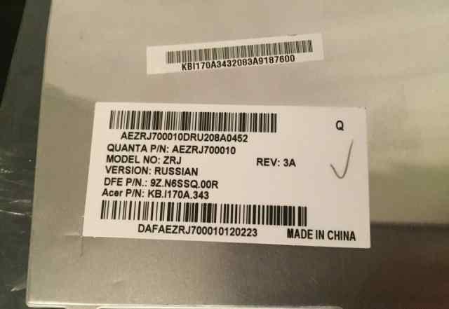 Клавиатура для ноутбука Acer Travelmate 5760