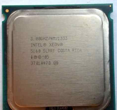 Intel Xeon 5160 3.0/771/4096 Core 2 Duo E6850