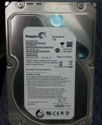 Жесткие диски 2 tb