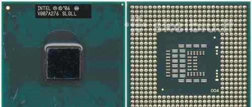 Процессор для ноутбука Intel Core 2 Duo AW80577T65