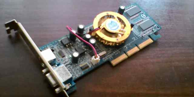 GeForce fx5200 D128Mb AGP