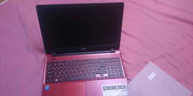 Acer e5 красный новый