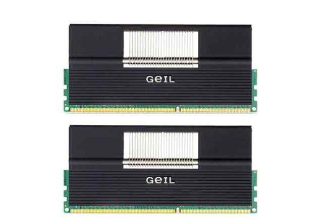 Память Geil 2x1Gb 1600MHz CL7 (GEX32GB1600C7DC)