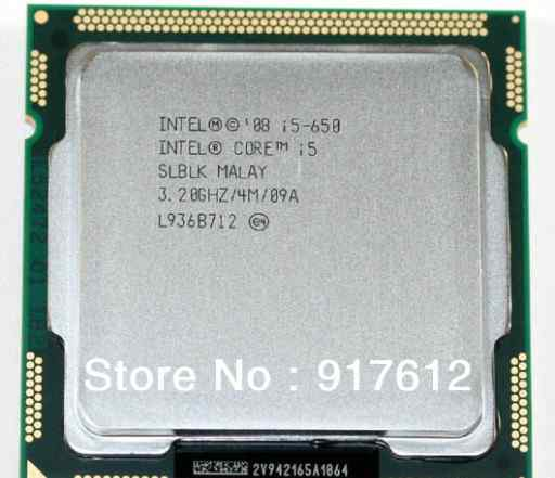 Intel Core i5 650, 3.2 GHz, LGA 1156, OEM
