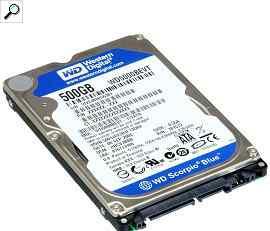 Жесткий диск для ноутбука HDD 2.5 500 Gb