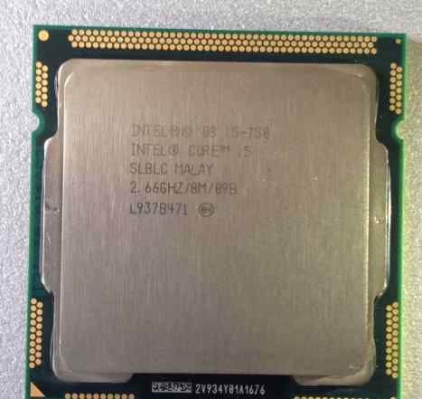 Intel Core i5-750 2.66GHz/8M Cache