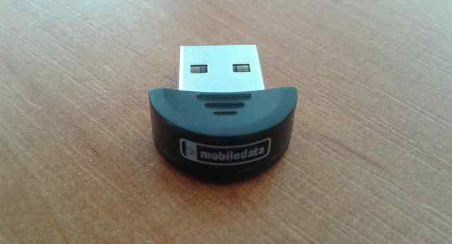 Адаптер USB Bluetooth v.2.0 MobileData UBT-207