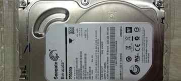 2 жестких диска 2 и 1 тб Seagate и WD