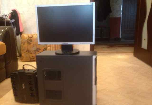 Продажа компьютера и монитора