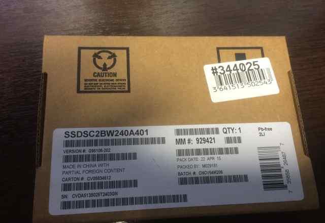 SSD Intel 240Gb 530 series