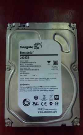 Диск hdd seagate 3000gb. SATA 3