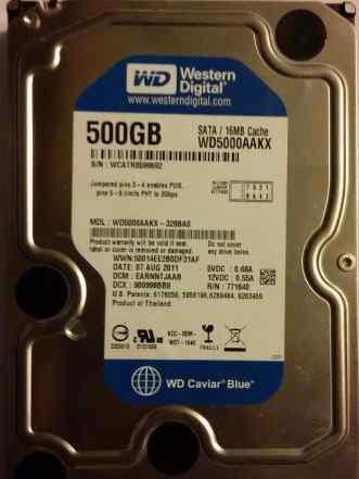 Western Digital 500 Гб blue wd5000aakx