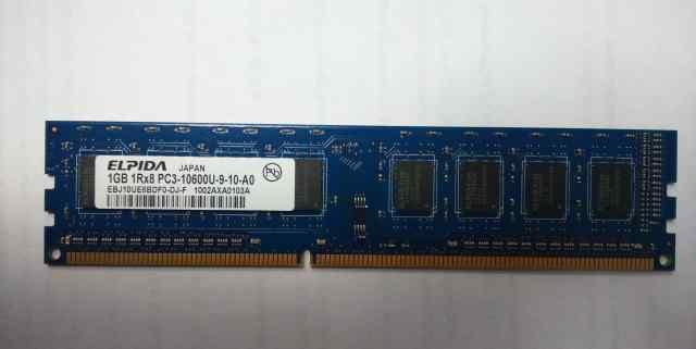 Оперативная память Elpida DDR3 1 Gb
