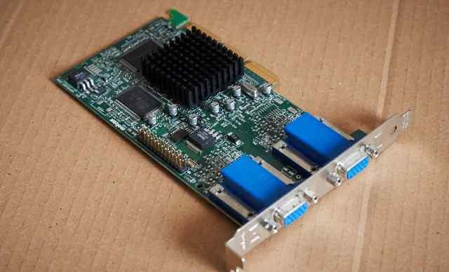 Matrox G450 (AGP x4)