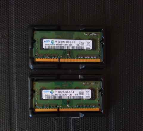 Оперативная память Samsung 2gb DDR3 1333 2шт