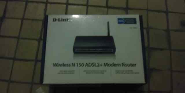 Adsl роутер D-Link DSL-2640U