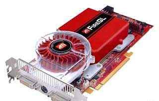Профессиональная PCI-E видеокарта ATI FireGL V7200
